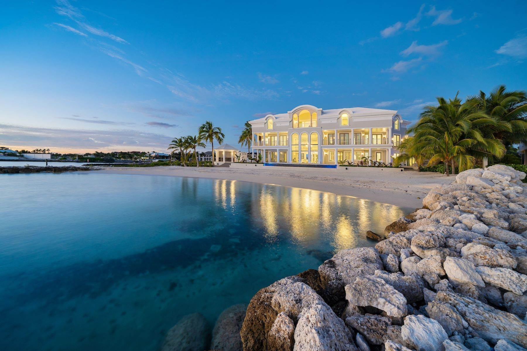 Single Family Homes for Sale at Elisium, Ocean Club Estates Ocean Club Estates, Paradise Island, Nassau And Paradise Island Bahamas